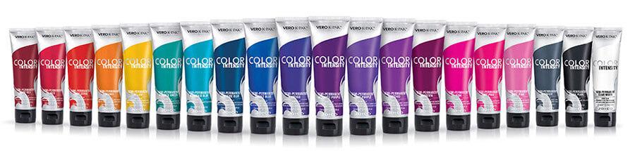 Color Intensity Group Shot Bottles