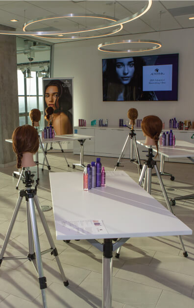 The Academy Of Hair Opening workshop