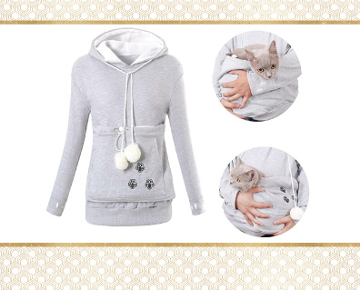 Sweater With Pouch To Hold Pet