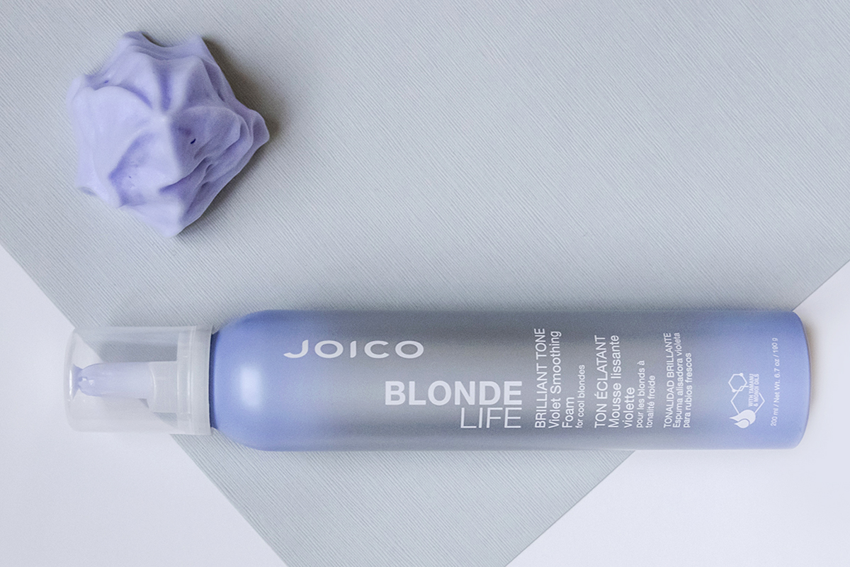 Blonde Life Foam bottle