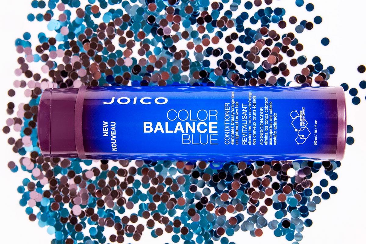 Color Balance Blue conditioner bottle