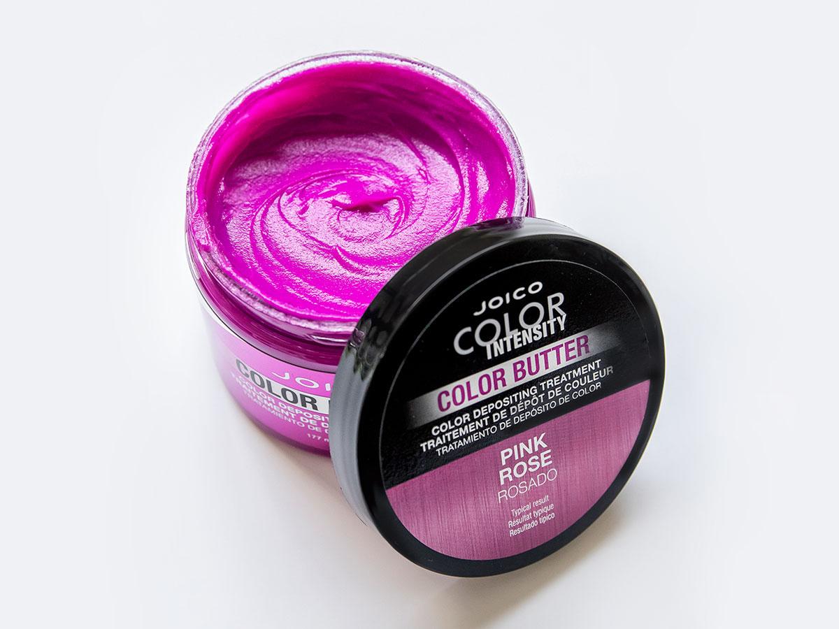 Color Butter Pink jar open