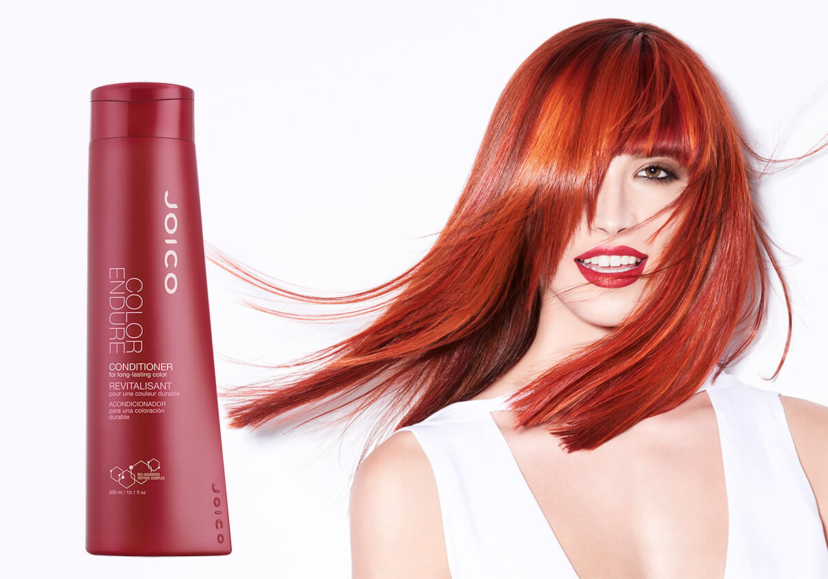 Color Endure Conditioner Model and Product