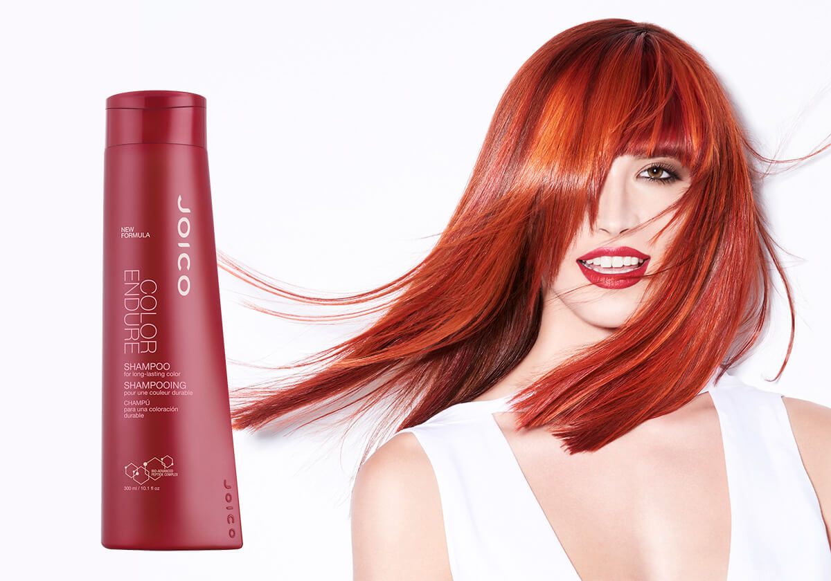 Color Endure Shampoo Shampoo Model and Product