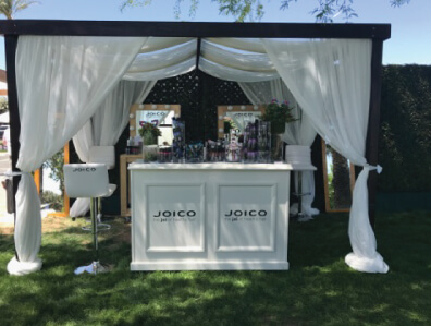 Joico booth