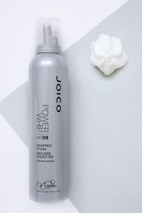 Power whip foam bottle