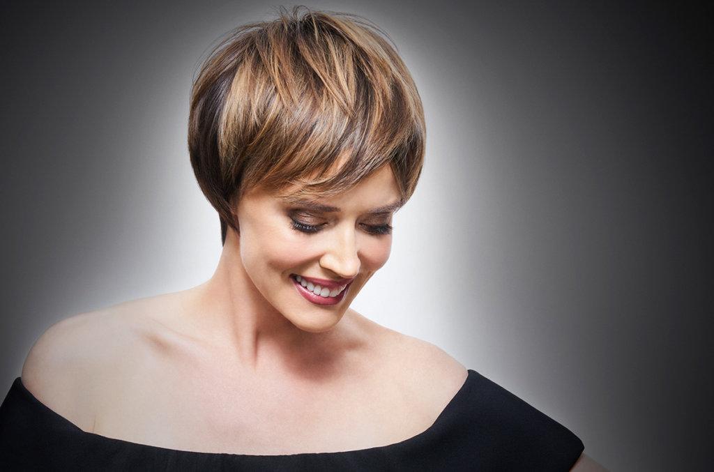 Vero K-PAK age defy Hair color model after