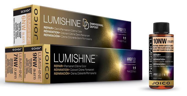 lumishine warm series line bottle and boxes