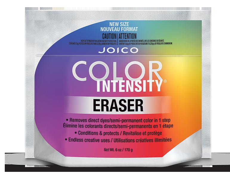 Color Intensity Eraser Bag