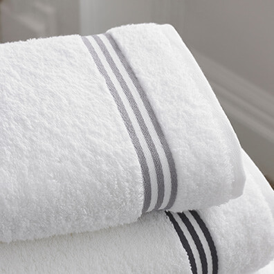 Towels Folded in Stack