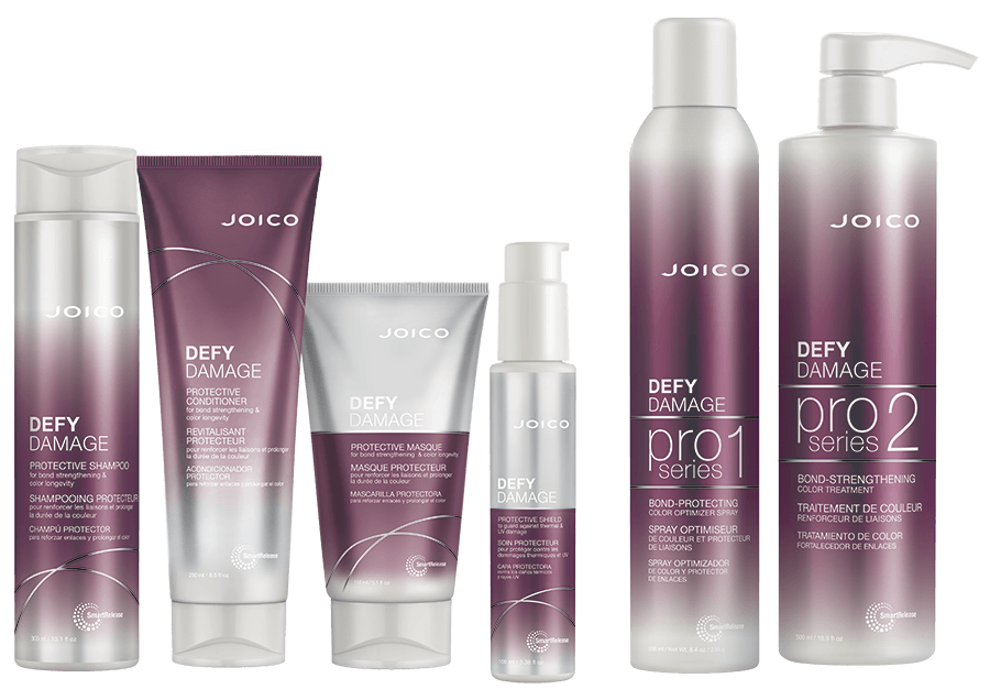 Defy Damage home care and pro series