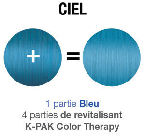 Color Butter blue mixology swatch chart FR