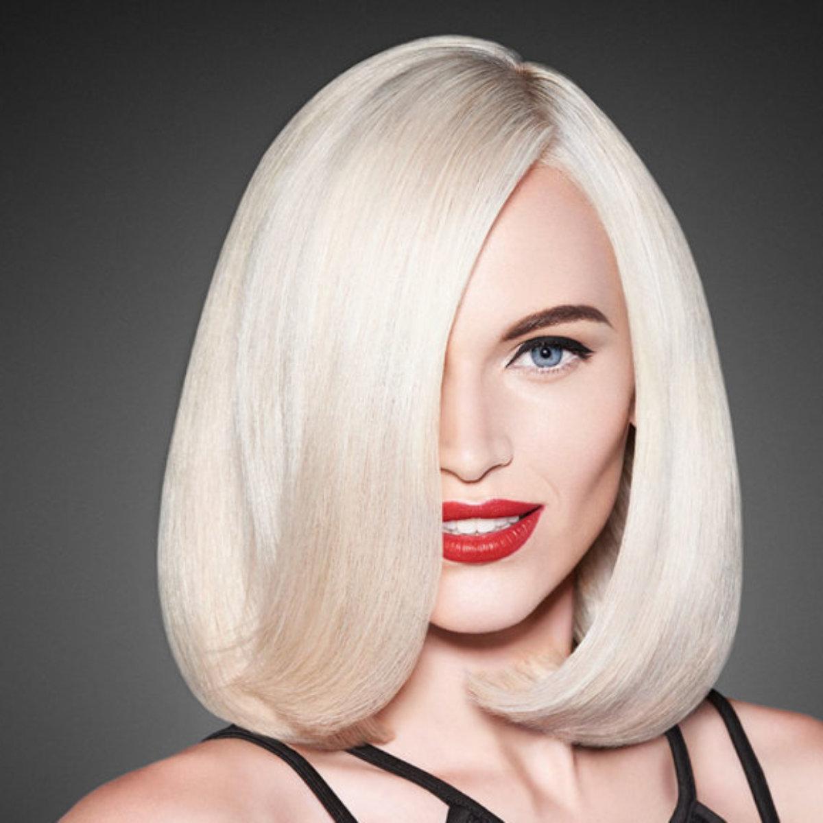 Platinum Blonde model after