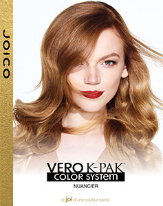 Vero K-PAK Swatch chart PDF Cover