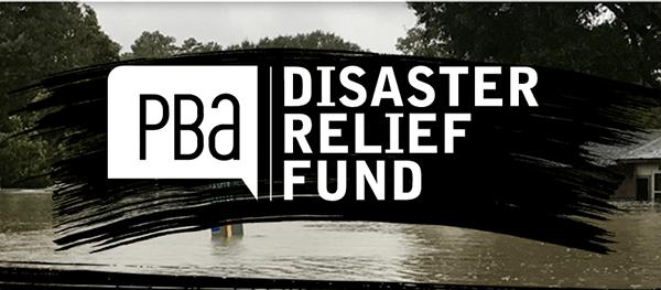 PBA Relief fund logo