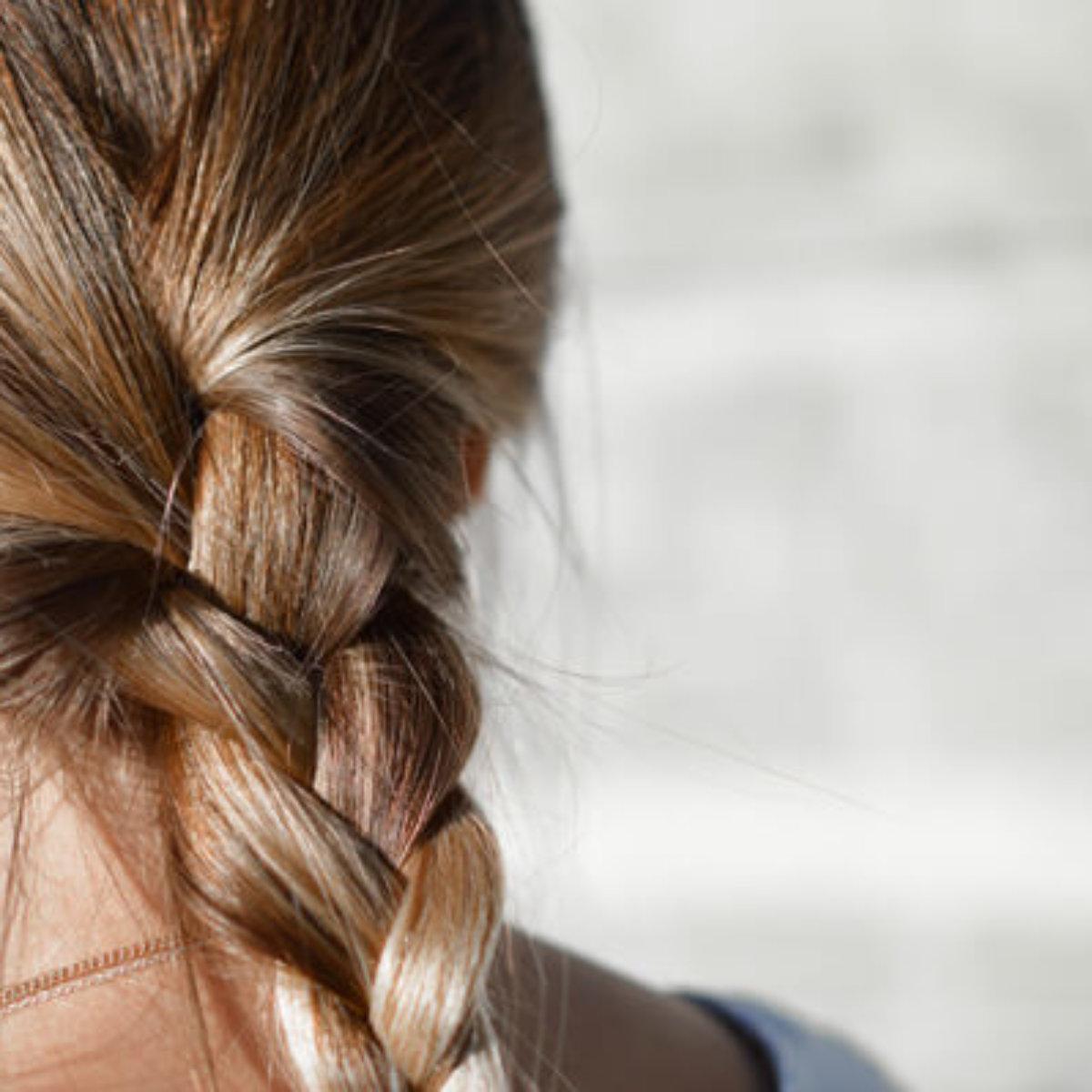 Hair in braid
